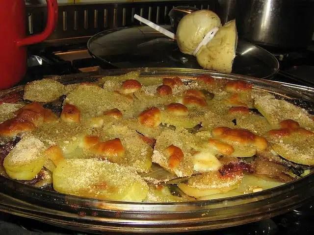Patate, cucina - Brest, Francia