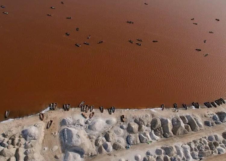 Lago Rosa - Senegal