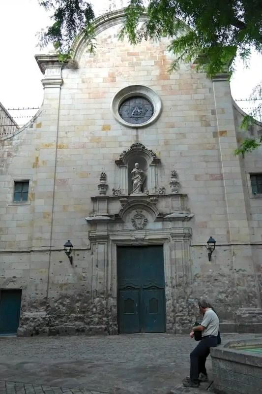 Plaça de Sant Felip Neri, Barcellona - Catalogna, Spagna