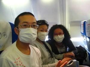 Igiene - Viaggiatori in aereo