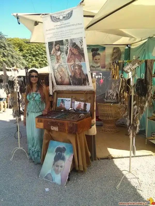 Mercatino hippie - Ibiza, Spagna