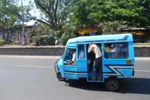 Minibus - Pondicherry, India