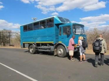 Camion - Safari Australe Ovest, Africa