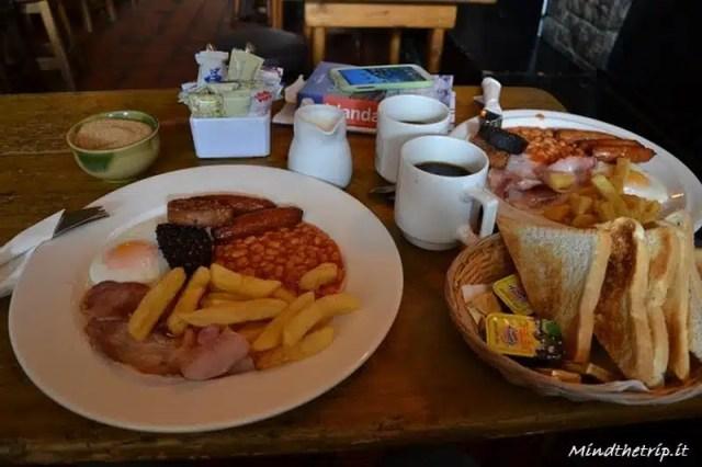 Colazione irlandese - Doolin, Irlanda