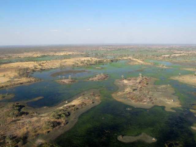 Il delta dell'Okavango - Botswana