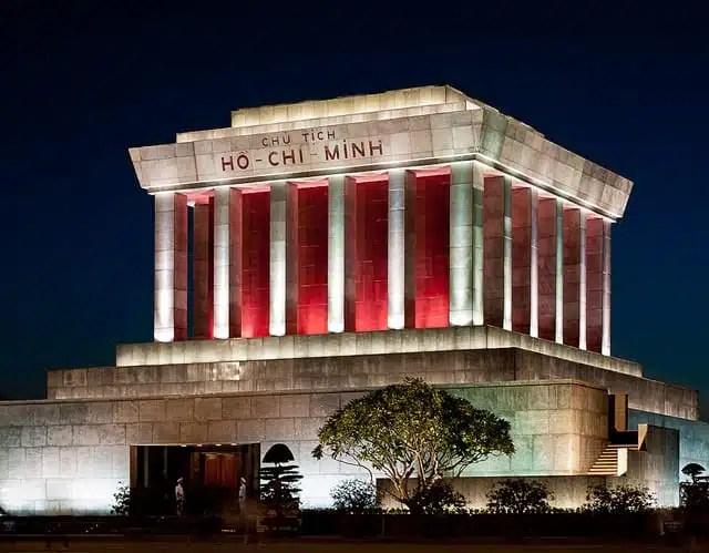 Mausoleo di Ho Chi Minh - Hanoi, Vietnam