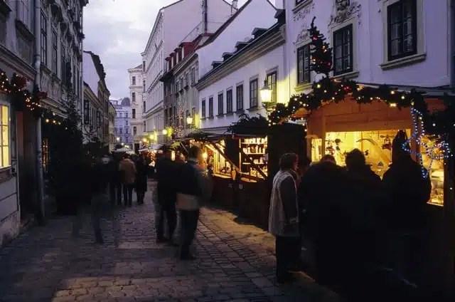 Spittelberg Market - Vienna, Austria