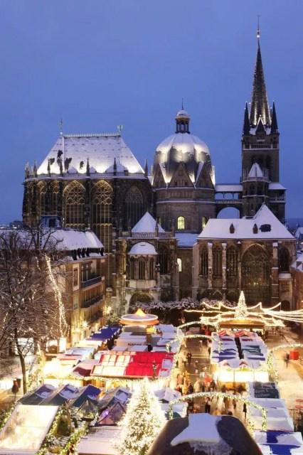Il mercatino di Aquisgrana - Germania