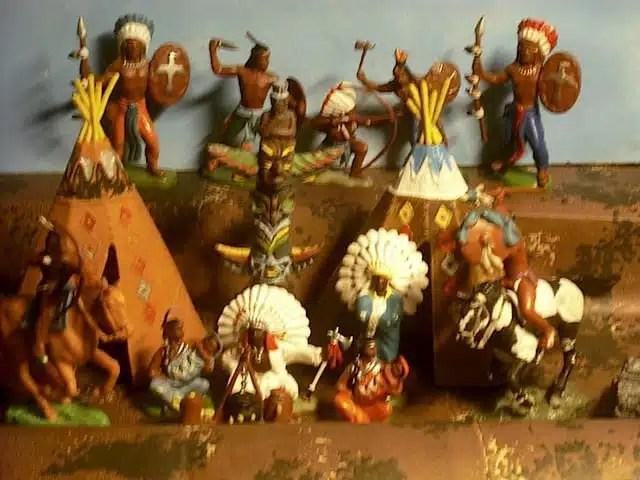 Indiani giocattolo