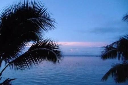 Tramonto - Samoa
