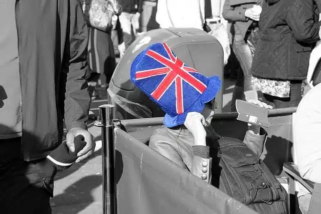 Le abitudini dei viaggiatori britannici