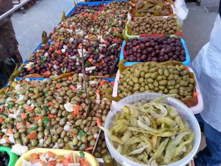 Mercato a Siracusa - Sicilia, Italia