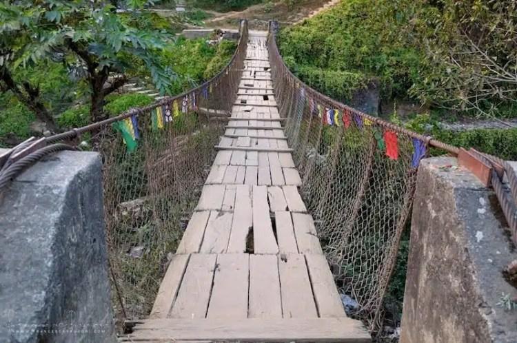 Ponte tibetano - Nepal