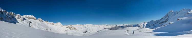 Panoramica piste Adamello SKI - Alpi, Italy