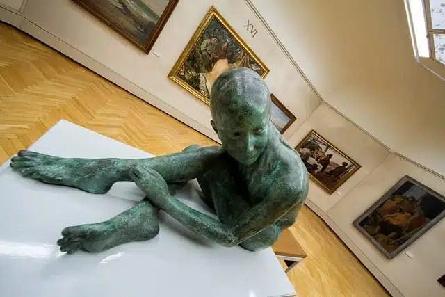 Galleria d'Arte Moderna Ricci Oddi - Piacenza, Italia