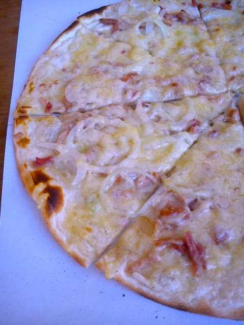 Pizza alsaziana - Francia