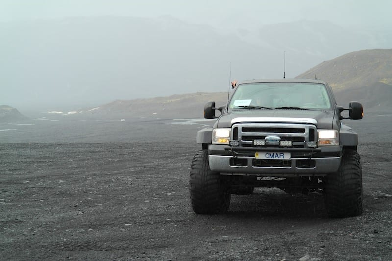 Off-road in Iceland