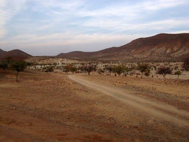 Cascate Epupa, Namibia