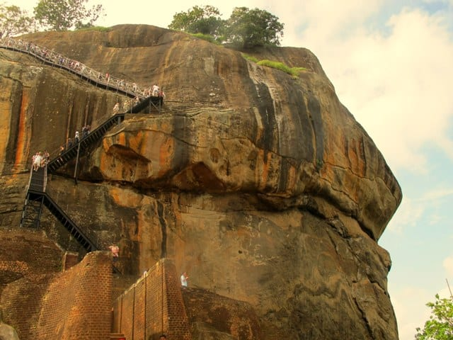 Sri Lanka The Beautiful Rock Fortress Of Sigiriya