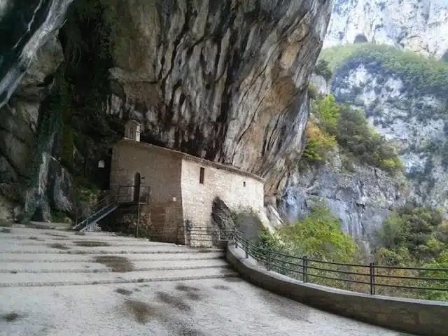 Santuario della Madonna di Frasassi - Marche, Italy