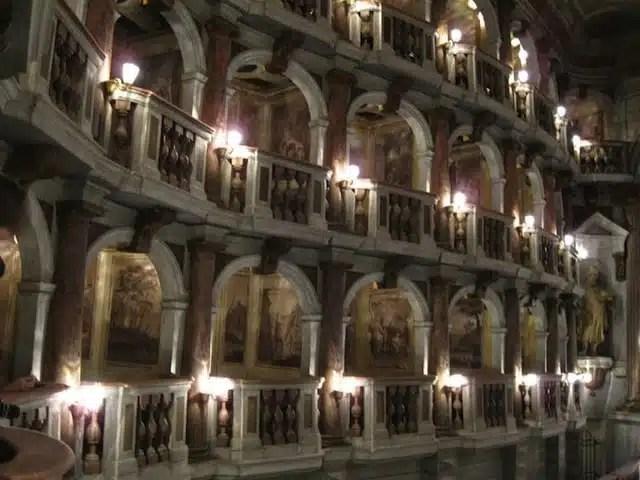 Teatro Bibiena - Mantova, Italia