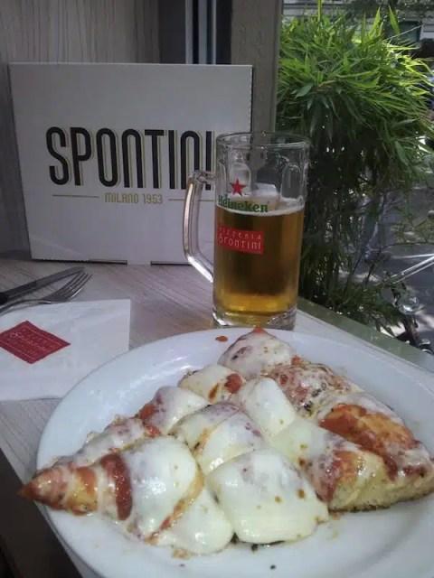 Trancio di pizza Spontini