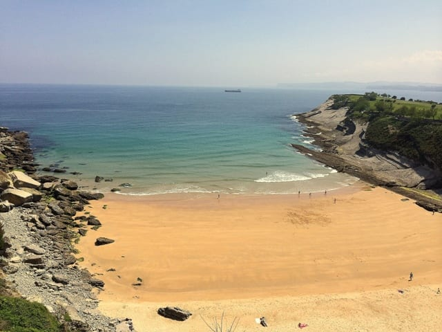 Playa de Matalenhas - Santander, Spagna