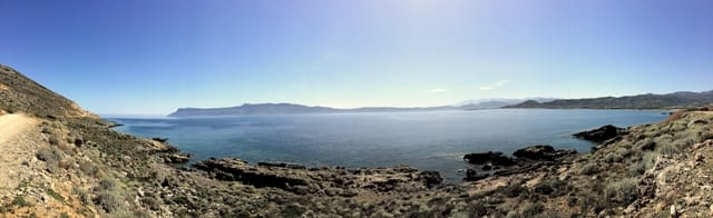 strada panoramica per Balos