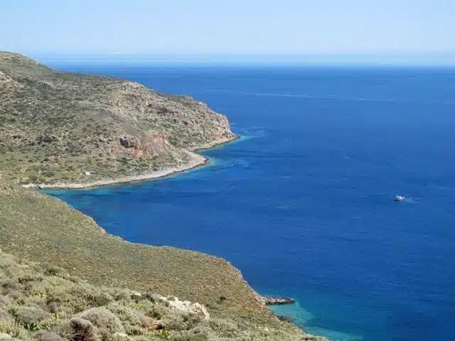 Balos - Creta, Grecia - strada panoramica
