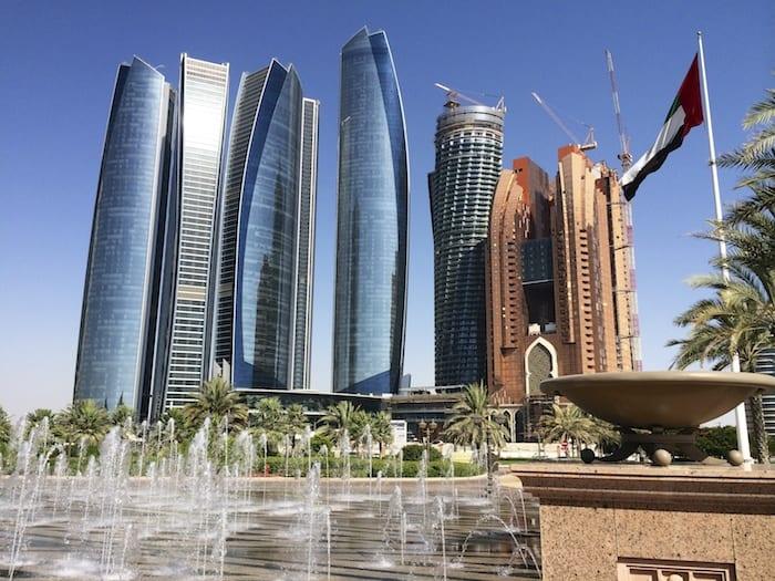 Grattacieli di Abu Dhabi