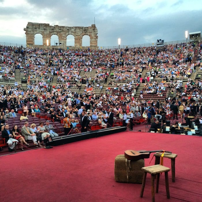 Tweet Seats - Arena di Verona