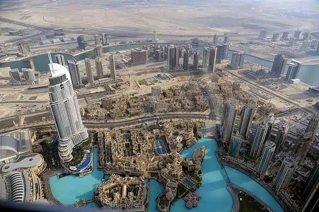 Burj Khalifa vista_Dubai_Darla Hueske
