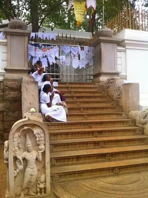 Albero di Bodhi - Anuradhapura, Sri Lanka