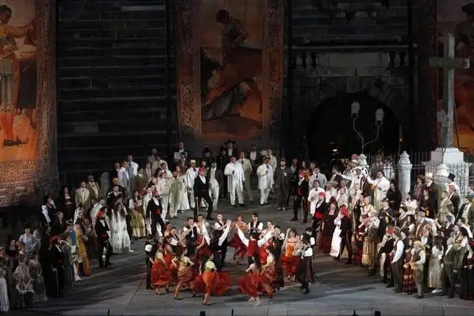 La Carmen, Arena di Verona