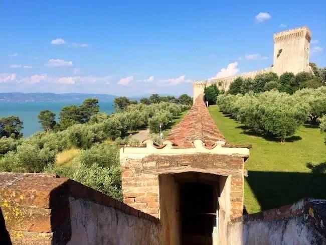 Rocca del Leone - Castiglione del Lago, Italia