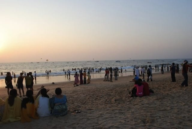 Spiaggia a Goa - India