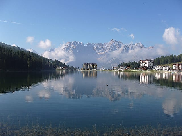 Lago di Misurina - Provincia di Belluno, Italia