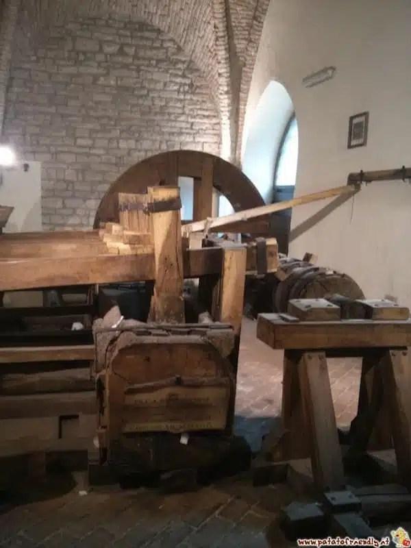 Museo della carta di Fabriano, Marche, Italia