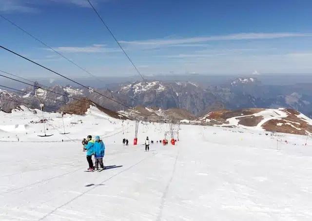 Sci - Les Deux Alpes, Francia
