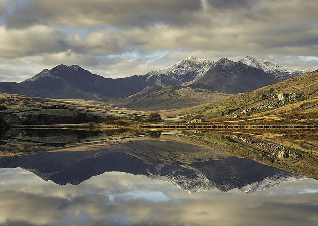 Snowdonia, Galles, UK
