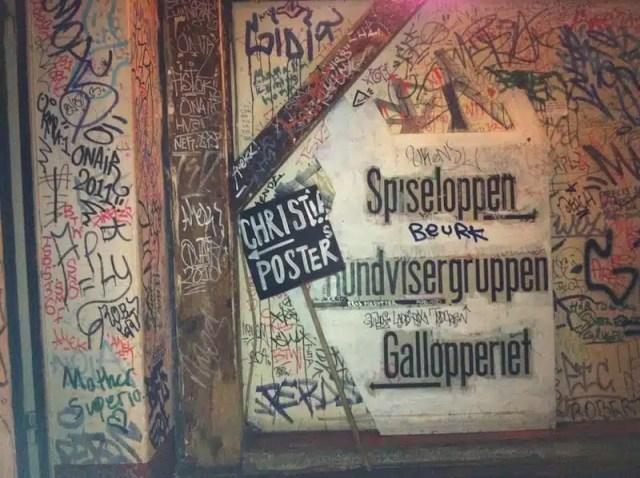 Christiania - Copenhagen, Danimarca