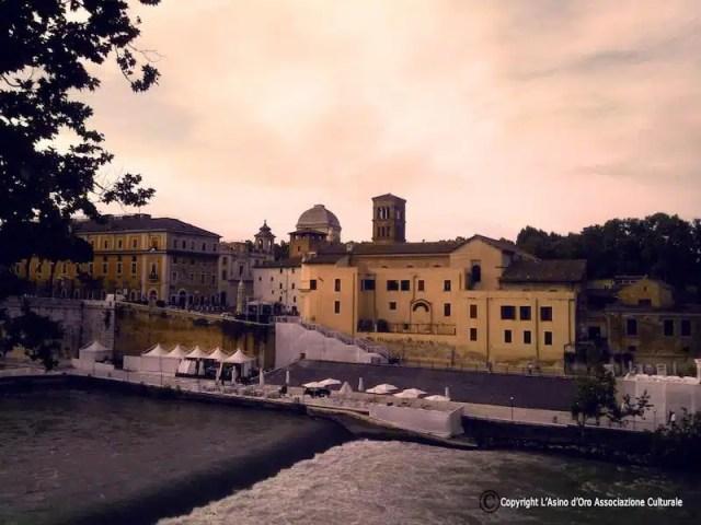 Isola Tiberina - Roma, Italia