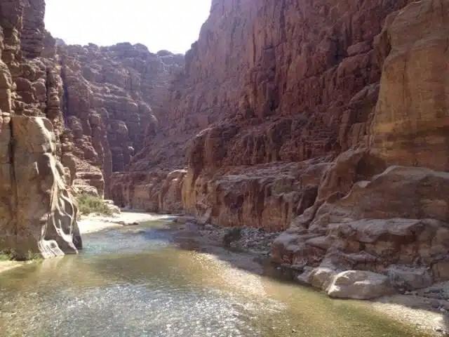 Wadi Mujib, Giordania