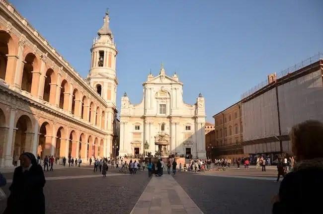 Basilica di Loreto - Marche, Italia