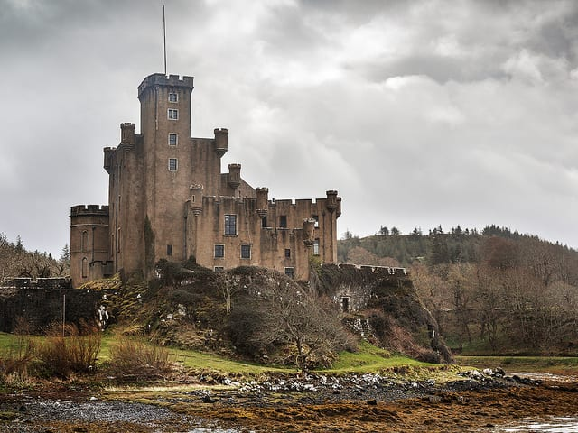 Dunvegan Castle, Skye - Ebridi Interne, Scozia
