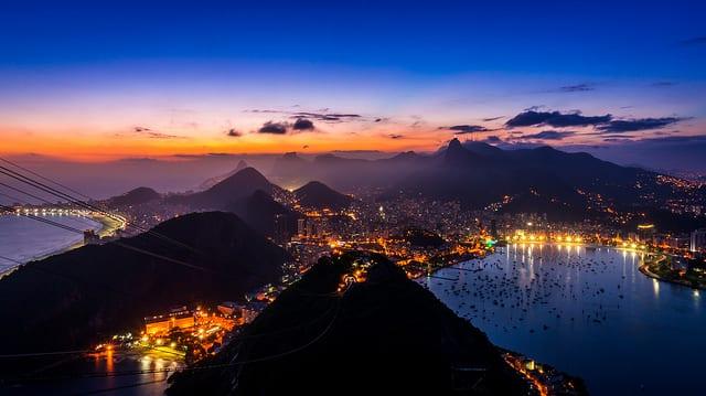 Tramonto dal Pan di Zucchero - Rio de Janeiro, Brasile