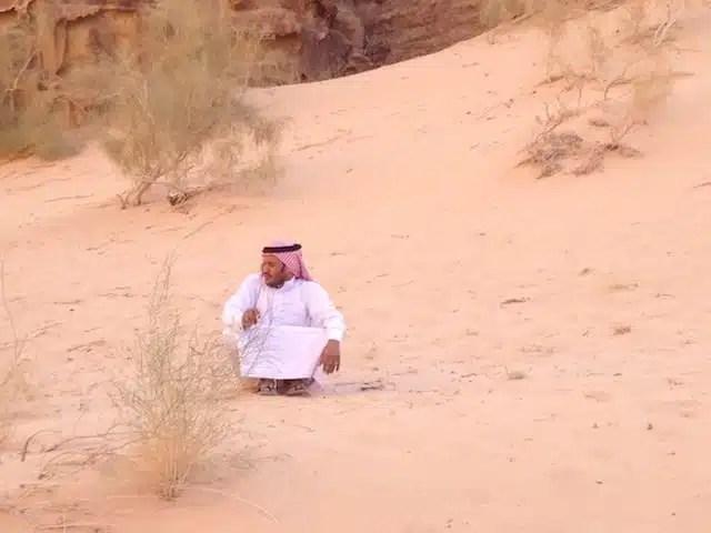 Deserto del Wadi Rum - Giordania