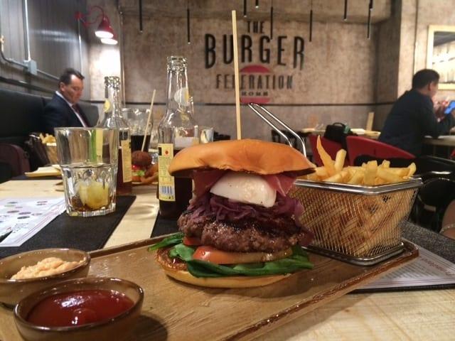 The Burger Federation - Aeroporto Roma Fiumicino, Italia