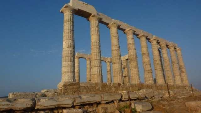 Tempio di Poseidone - Capo Sounion, Grecia