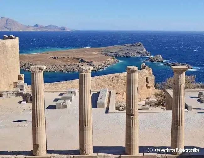 Acropoli di Lindo - Rodi, Grecia